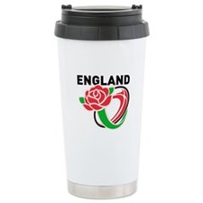 Rugby England Travel Mug
