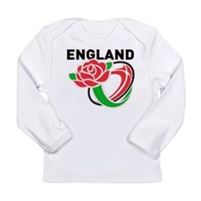 Rugby England Long Sleeve Infant T-Shirt