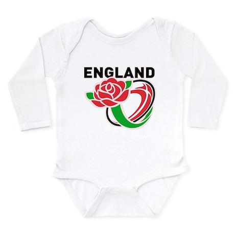 Rugby England Long Sleeve Infant Bodysuit