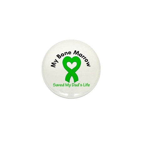 BoneMarrowSavedDad Mini Button (100 pack)