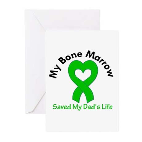 BoneMarrowSavedDad Greeting Cards (Pk of 10)