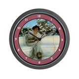 Cute Alma Wall Clock
