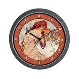 Funny Alphonse Wall Clock
