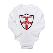 Rugby England Long Sleeve Infant Bodysuit