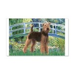 Bridge - Airedale #6 20x12 Wall Decal