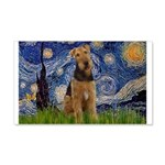 Starry - Airedale #1 20x12 Wall Decal