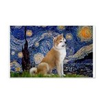 Starry - Akita3 20x12 Wall Decal