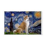 Starry - Akita3 20x12 Wall Decal