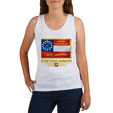 20th Texas Infantry Women's Tank Top