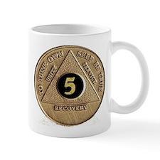 5 YEAR COIN Mug