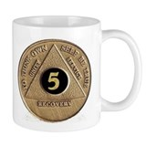 5 YEAR COIN Small Mug