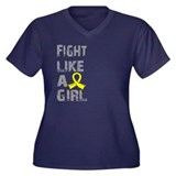 Fight Like A Girl Endometriosis Women's Plus Size