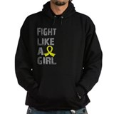 Fight Like A Girl Endometriosis Hoody
