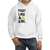 Fight Like A Girl Endometriosis Jumper Hoody