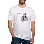Tough Job Best Man Fitted T-Shirt