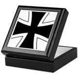 Iron Cross Keepsake Box