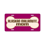 Alaskan Malamute Mom Dog License Plate