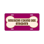 American Eskimo Dog Lover License Plate