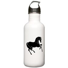Horse Cut-Out Silhouette Water Bottle