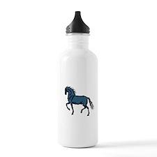 Baroque Horse Woodblock Water Bottle