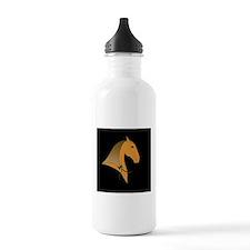baroque dressage horse Water Bottle