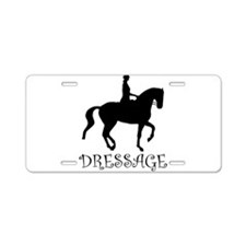 dressage silhouette Aluminum License Plate