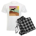 desert horse Men's Light Pajamas
