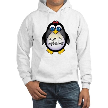 Penguin September Due Date Hooded Sweatshirt