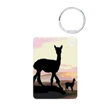 Sunset Hills Alpacas Keychains