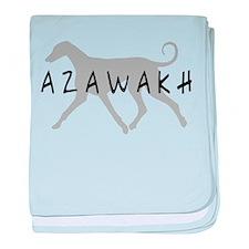 Azawakh Dogs baby blanket