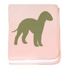 Sage Bedlington baby blanket