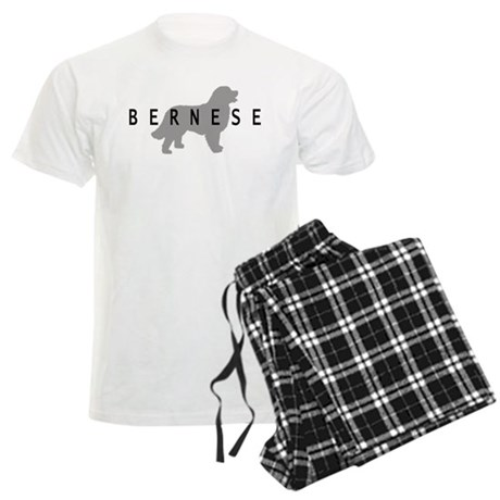 Bernese Dog Men's Light Pajamas