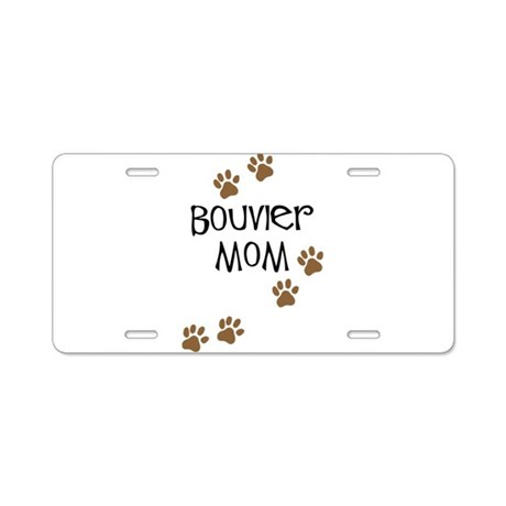 Bouvier Mom Aluminum License Plate