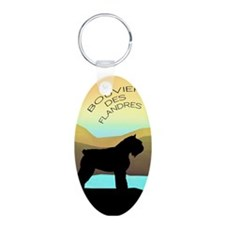 Bouvier By The Sea Keychains