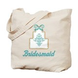 Bridesmaid Wedding Cake Tote Bag