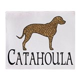 Catahoula Throw Blanket
