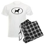 Chihuahua Oval Men's Light Pajamas