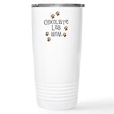 Chocolate Lab Mom Travel Mug