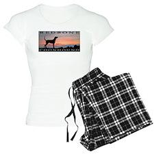 Redbone Coonhound Sunset Pajamas