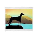 Greyhound Fleece Blankets