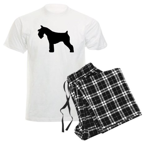 Miniature Schnauzer Men's Light Pajamas
