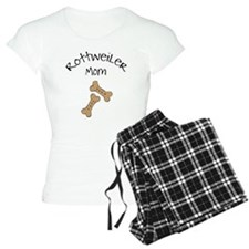 Biscuits Rottweiler Mom Pajamas