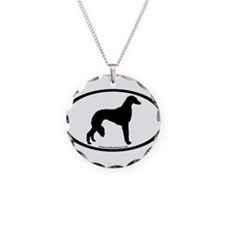 Saluki Oval Necklace