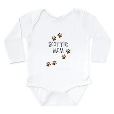 Scottie Mom Long Sleeve Infant Bodysuit