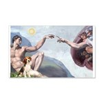 Creation of the Beagle 20x12 Wall Decal