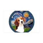 Starry Night Beagle #1 35x21 Wall Decal