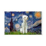 Starry / Bedlington 20x12 Wall Decal