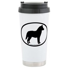 Siberian Husky Dog Bree Travel Mug
