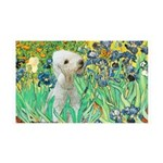 Irises /Bedlington T 35x21 Wall Decal