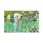 Irises /Bedlington T 20x12 Wall Decal